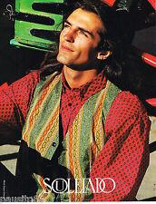 PUBLICITE ADVERTISING 065  1994  SOULEIADO  pret à porter chemises provençales