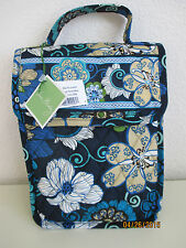 VERA BRADLEY LUNCH BAG MOD FLORAL BLUE (RETIRED)
