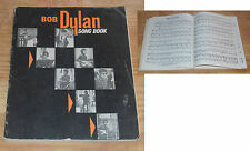 Bob Dylan song book Warner Bros 1966, UK, 144 pages, très rare en cet état...