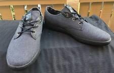 CREATIVE RECREATION black vintage canvas Mens athletic Shoes 9 NEW