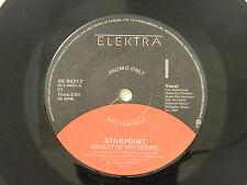 Starpoint 45 OBJECT OF MY DESIRE / SEND ME A LETTER ~ Elektra VG++ rock