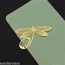 1 Pc Dragonfly Metal Bookmark Paper Clip Practical Reading Accessories for Kids