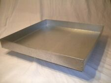 New 24 x 24 x 2 Inch Metal Dropping Pan /Cage Tray for Rabbit,Bird,MANY SIZES