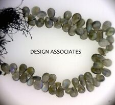 LABRADORITE13X9  MM TO 17X12 MM  PEAR CUT  GEMSTONE BEADS AAA