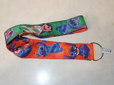 "Disney Parks Authentic - Lilo Stitch 22"" Pin Lanyard Extra Wide - NEW"