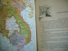 INDOCHINE FRANCAISE Paul Doumer 1930 tonkin cochinchine cambodge laos annam etc