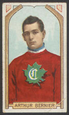 1911-12 C55 IMPERIAL TOBACCO HOCKEY #37 ARTHUR BERNIER FIRST MONTREAL CANADIENS