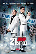 21 Jump Street Double Sided Orignal Movie Poster 27x40 inches