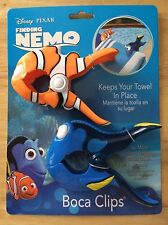 Boca Clips Finding Nemo Disney Beach Pool Towel Chair Clips New in Package