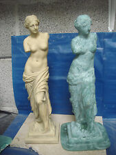 "LATEX RUBBER MOULD, MOLD + FIBREGLASS  CASING  STATUE VENUS 15.5"" height"