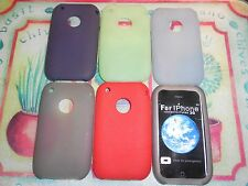 IPHONE 3 3G 3GS CASE SILICONE/GEL/RUBBER APPLE