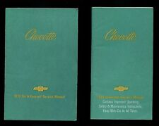 2 Chevrolet Chevy Chevette 1979 Do-It-Yourself Service Manual & Owner's Manual