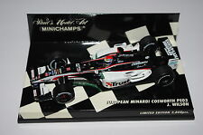 Minichamps F1 1/43 MINARDI COSWORTH PS03 JUSTIN WILSON Limited Edition