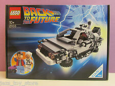rare LEGO ideas BACK TO THE FUTURE DELOREAN CAR cuusoo 21103 BRAND NEW