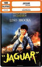 Fiche Cinéma. Movie Card. Jaguar (Philippines) 1980 Lino Brocka
