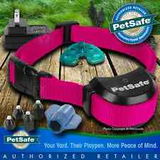 PetSafe Stay and Play Wireless Fence Collar PIF00-14288 Pink Rechargeable