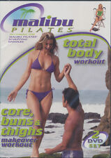 MALIBU PILATES ~ TOTAL BODY WORKOUT ~ 2 DVD SET new