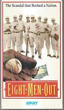 Eight men out Vhs 1988 Charlie Sheen D.B. Sweeney Christopher Lloyd very good