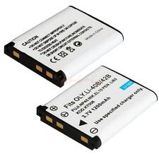 Li-40B/42B 1200mAh Battery for Olympus CoolPix S210 S220 S600 S510 / 2PCS CA