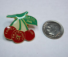 2006 Oasis Shriners Charlotte NC Family Fraternity Fun Cherry Pin