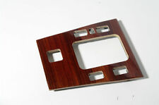 MERCEDES W202 C220 C280 C230 DARK ZEBRANO WOOD TRIM CENTER SHIFT PANEL RESTORED
