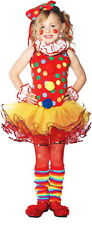 New Circus Clown Dress Wrist Cuffs Neck Piece Leg Warmers Headband Costume S