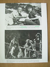 1980 FILM STILL PRESS PHOTO - WHEN TIME RAN OUT - PAUL NEWMAN JACQUELINE BISSET