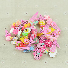 20x Wholesale Assorted Baby Kids Girls Hair Pin Cartoon Hair Clips Jewelry Gift