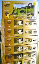 GARRETT ACE 300  FREE INTRODUCTORY PACK AND FREE SHIPPING TOTAL 6 FREE ITEMS