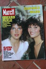 PARIS MATCH N°1708 (19/2/1982) Cardinale/Goldsmith - Vartan- B. Buffet - Cabrel