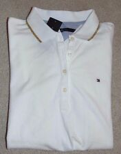 ~NWT Women's TOMMY HILFIGER Short Sleeve Polo Shirt Size Large FS:)