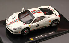 Ferrari 458 Italia Challenge White Elite Edition 1:43 Model HOT WHEELS