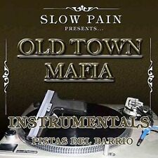 Old Town Mafia Instrumentals by Slow Pain (CD, 2006, Pr Inc.) NEW Sealed
