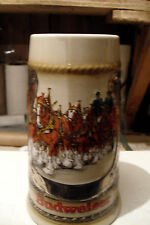 BUDWEISER EARLY HORSE SHOE STEIN GREAT LOOKING STEIN MINT