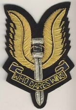 "029 - Fregio commemorativo da abito civile Special Air Service ""who dares wins"""