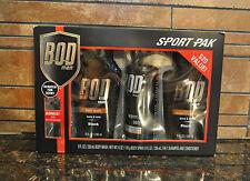 New Bod Man 4pc Sport Pak Warm & Sexy Black in Box