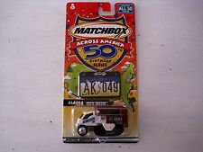 Sealed Matchbox Across America #49 Alaska Birthday Series Snow Doctor-NICE!!!!!