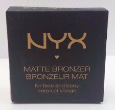 NYX MATTE BRONZER for face & body/MBB04/dark tan/ DEEP WARM BROWN