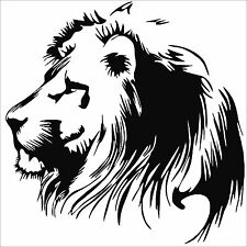 Lion 10inch vinyl wall art sticker decal BDS