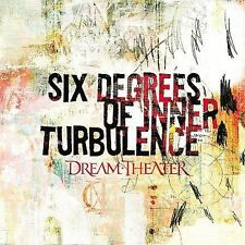 Six Degrees of Inner Turbulence by Dream Theater (CD, Jan-2002, 2 Discs,...