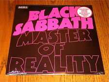 BLACK SABBATH MASTER OF REALITY COLLECTORS LIMITED EDITION COLORED VINYL LP