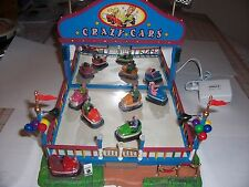 LEMAX CRAZY  CARS CARNIVAL RIDE ANIMATED  (Bumper Cars) {NEW}