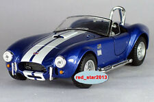 Model Toy 1/32 Diecast Car Alloy Blue FORD SHELBY COBRA 427 S/C Vehicle Figure