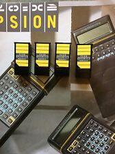 Psion Organizer II 32k datapacks, vuoto e formattato x 4