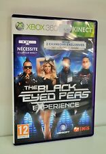 JEU XBOX 360 KINECT - THE BLACK EYED PEAS EXPERIENCE COMPLET REF 14