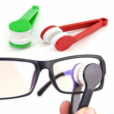 Modern Mini Glasses Eyeglass Sunglasses Spectacles Microfiber Cleaner Brush