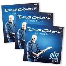 GHS David Gilmour Signature GB-DGF NPS Electric Guitar Strings 10-48 3-Pack