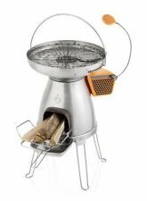 BioLite BaseCamp Wood Burning Cooking Stove Grill USB Power Generator