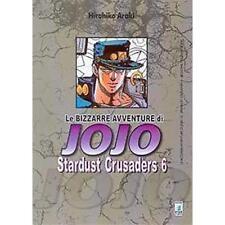 LE BIZZARRE AVVENTURE DI JOJO - STARDUST CRUSADERS 6 DI 10 - STAR COMICS NUOVO