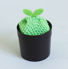 Sprout Acrylic Yarn Kitchen Cleaning Sponge Storage rack like a plant pot